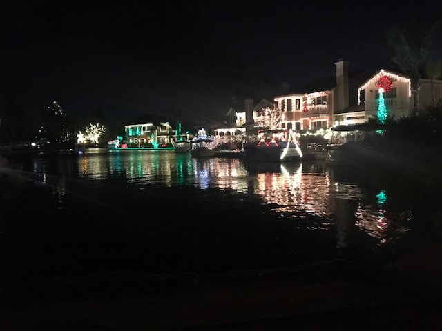 Eastlake in Yorba Linda is decorated with incredible lights to ring in the holiday season.