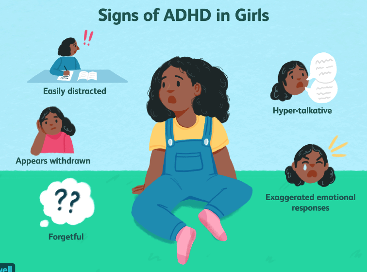 Generally, people associate ADHD with hyperactivity and inability to sit still; however, these symptoms are typically seen in boys. Due to the disregard of common symptoms in girls, such as forgetfulness and intense emotions, many girls live a difficult life undiagnosed.