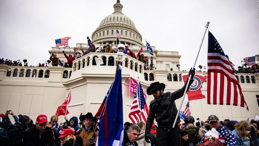 A picture taken on January 6 at the Capitol. Although the riot has passed, it is still a shocking for many of us that this occurred at the Capitol.