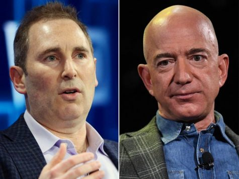 What will the transition of CEO's mean for  Amazon?