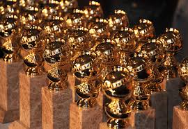 The Golden Globe Awards trophies are ready to be passed out to category winners.