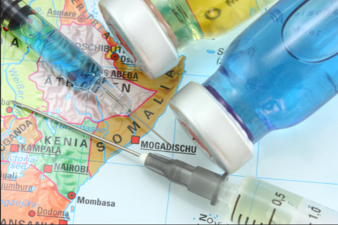 People are traveling around the world in order to receive the COVID-19 vaccine.