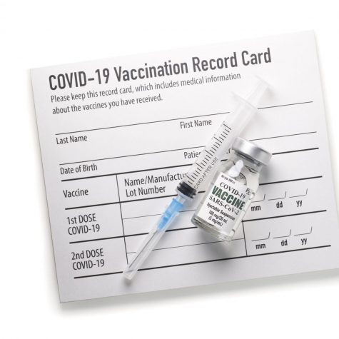 COVID-19 vaccination record cards display the recipient's full name and date of birth, which allows people to steal this information when pictures of the card are posted online.