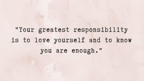Loving yourself can be hard but it