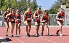 Yorba Linda High School's varsity girls versus Foothill.