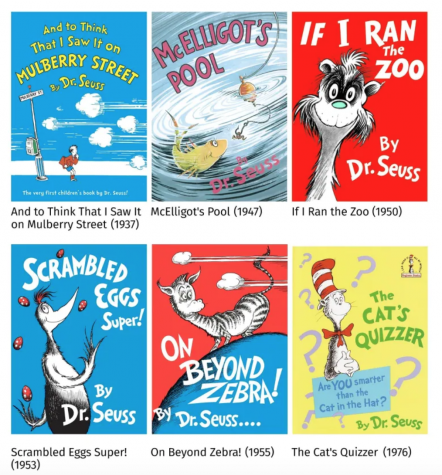 Six Dr. Seuss books will no longer be published because of their racist and insensitive imagery.