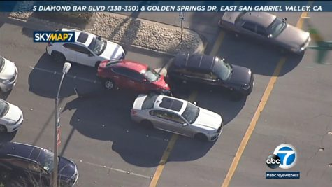 A road rage incident was followed by a car chase that ended in a standoff.