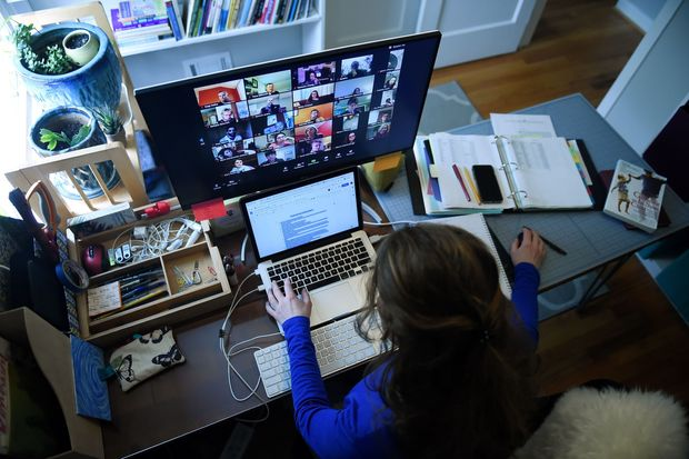 The modern age of remote learning sees most students staying sedentary by their computers to attend online classes.