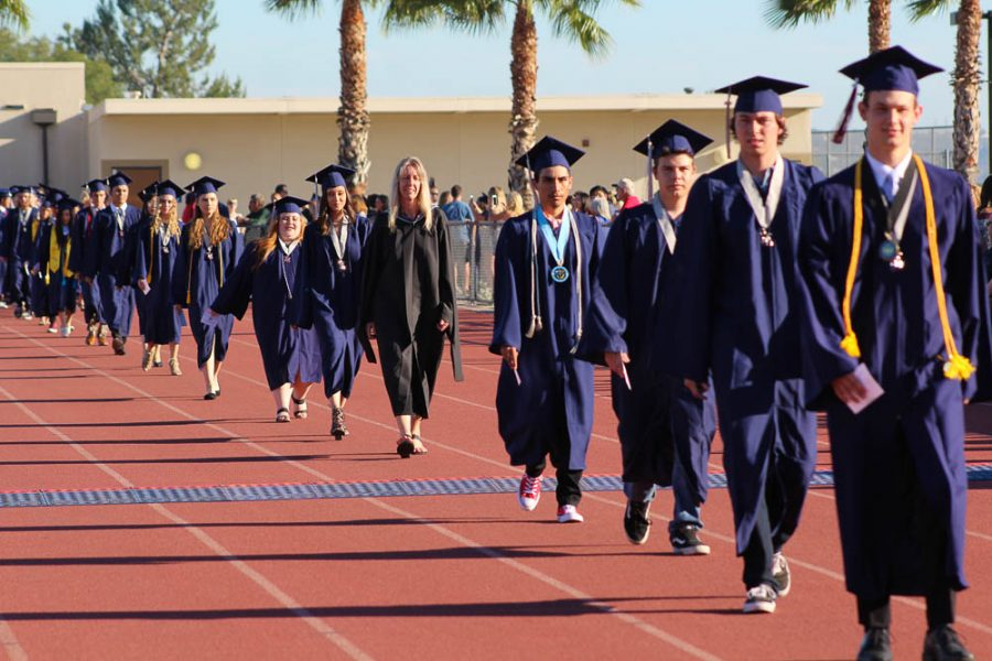 This year's graduation ceremony will look similar to pre-COVID times. We are so excited for our seniors to experience this special day!