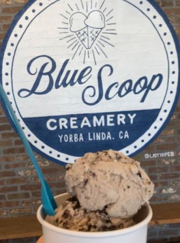 One of the many great ice cream shops near Yorba Linda is Blue Scoop Creamery.