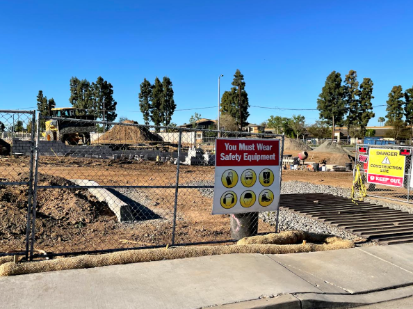 Our new In-N-Out is officially under  construction.