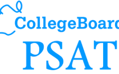 This is an example of one of the College Board's official PSAT banners.