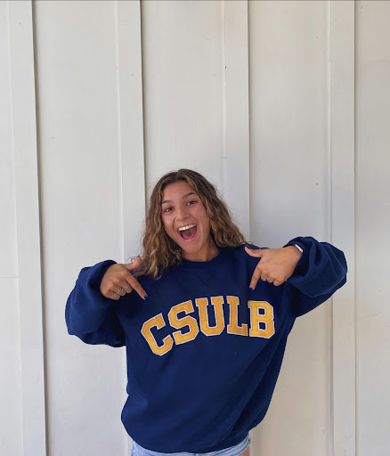 Makayla Medellin, a senior at Yorba Linda High School, has just committed to California State University of Long Beach