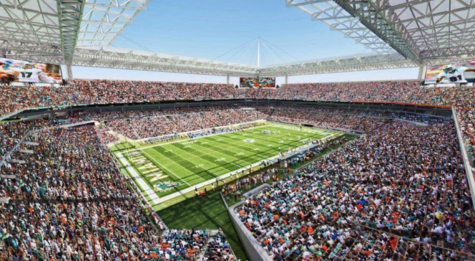 NFL Super Bowl 2020 stadium in Florida, filled to its limit as fans watch adamantly for the fifty-fourth Super Bowl champion.