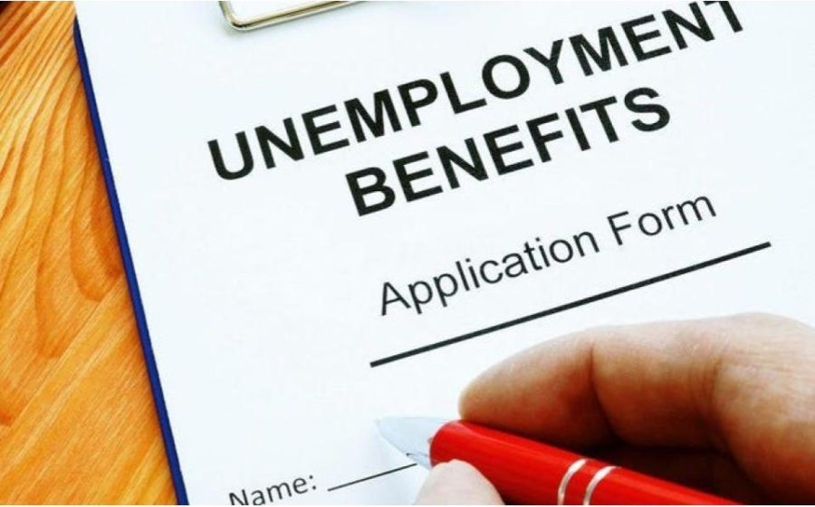 An image of a standard California Unemployment Benefits Application. Four in every fifty Californians have filled out this form in the past year.