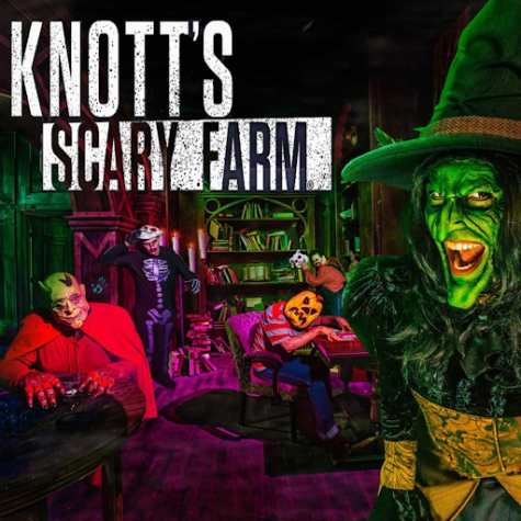 Knott's Scary Farm is a popular Halloween Event that many students attend. Filled with haunted mazes, creepy scares, and spooky entertainment, a night at Knott's Scary Farm will definitely terrify you.